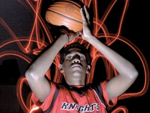 Sharpshooter: Royce O'Neale to lead Knights on court