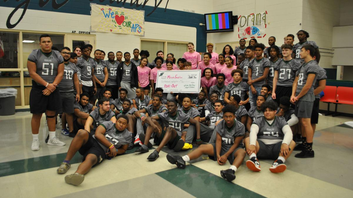 Ellison athletes do more than just wear pink during Breast Cancer Awareness Month