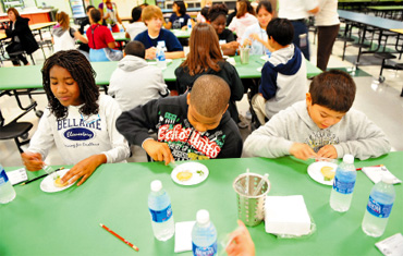KISD puts students' taste buds to test