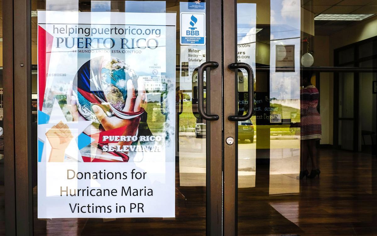 Hurricane Maria donations