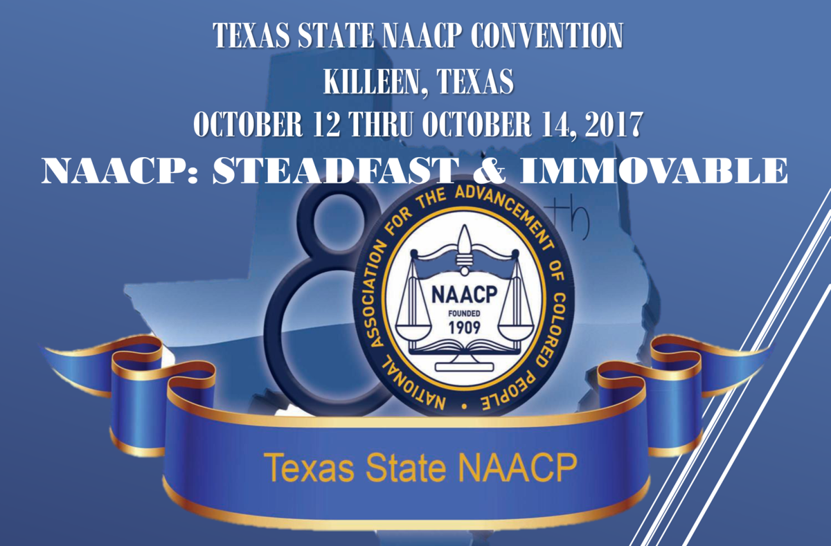 NAACP convention poster