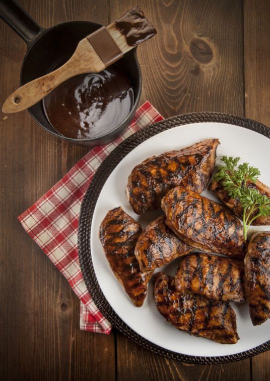 Bodacious BBQ chicken breasts recipe