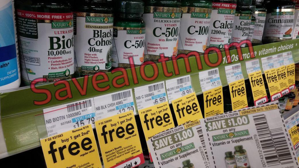 cvs vitamins buy one get one free