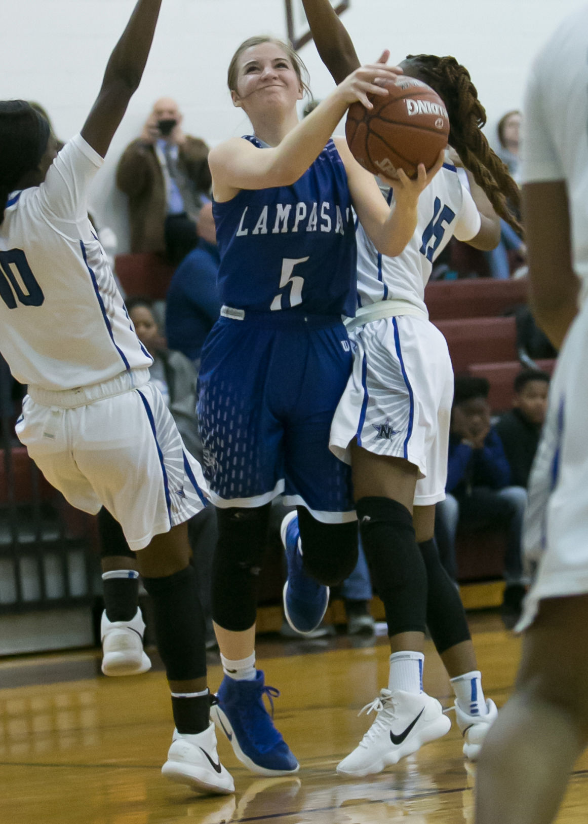 Lampasas vs. Navasota Girls Basketball Bi-District Playoffs