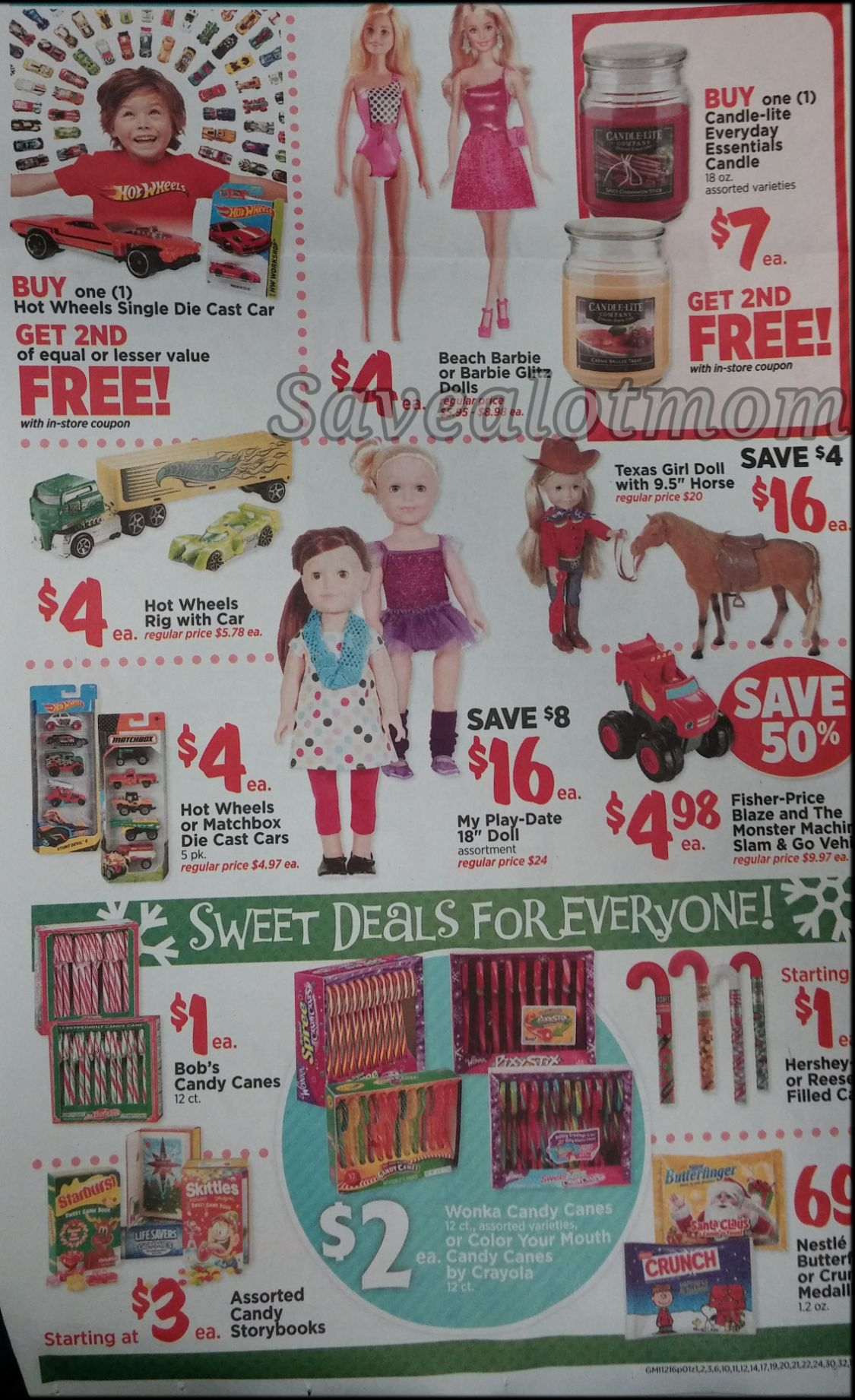 HEB Toys and Holiday Candies on Sale and Digital Coupon