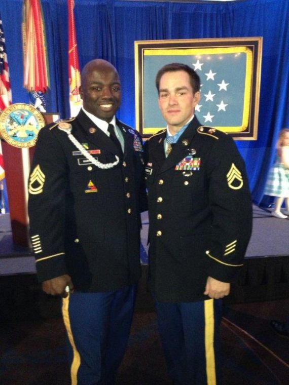 Division West NCO attends ceremony at White House