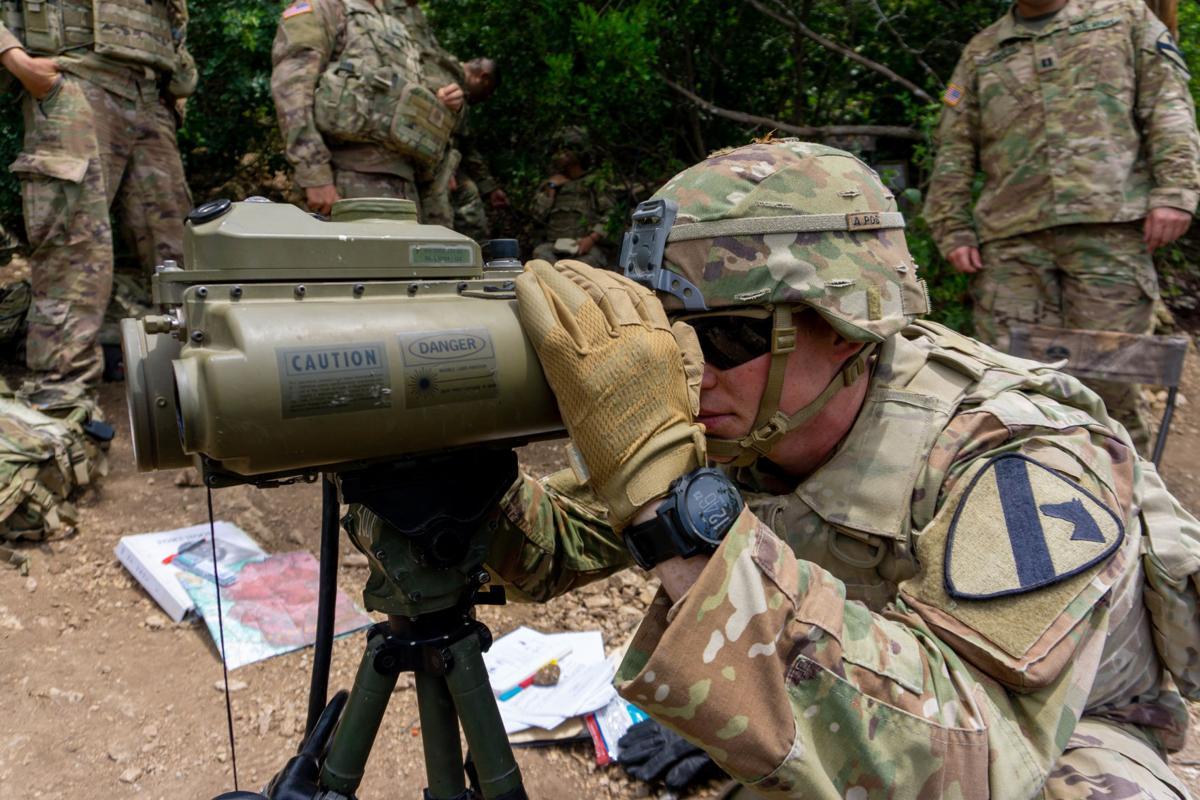 70-meter kill radius: Fort Hood mortar troops rain down