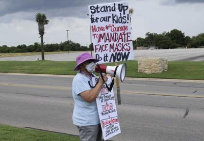 KISD Protest