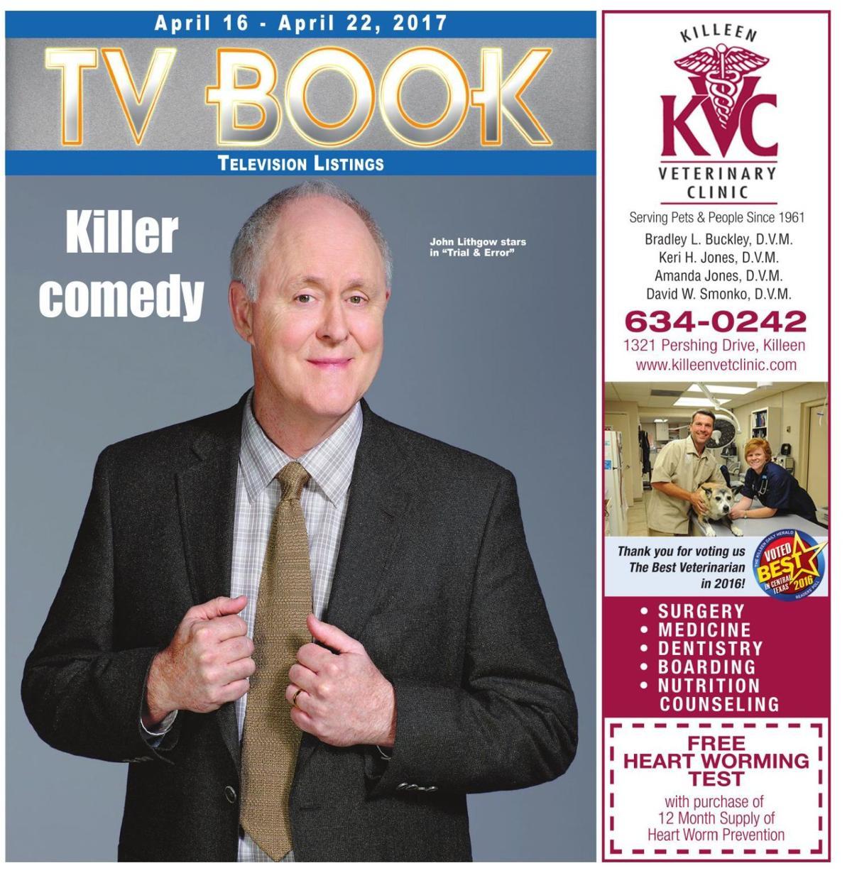 TV Book April 16th