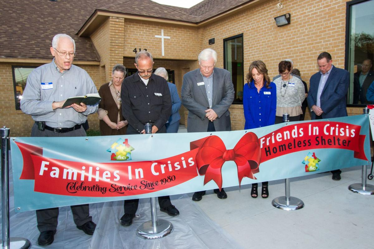 FRIENDS IN CRISIS HOMELESS SHELTER Ribbon Cutting
