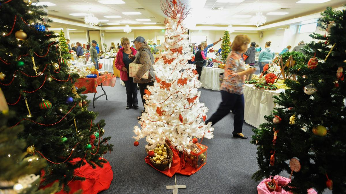 Christmas arrives early at Ladies of Charity bazaar in Heights