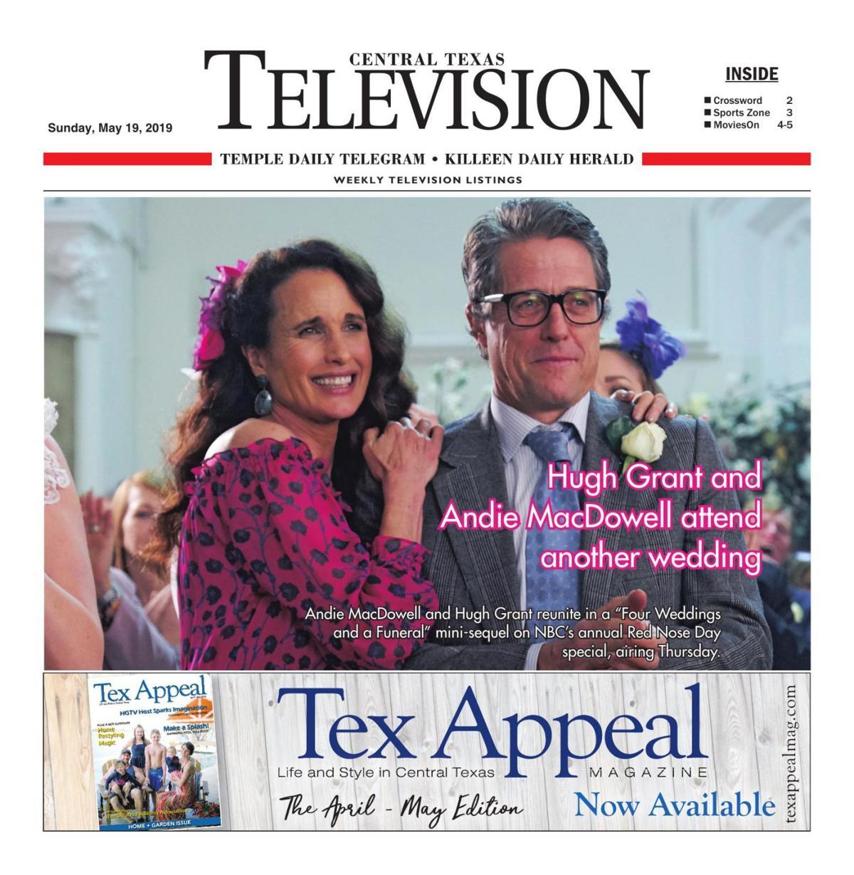 TV Book May 19th- 25th