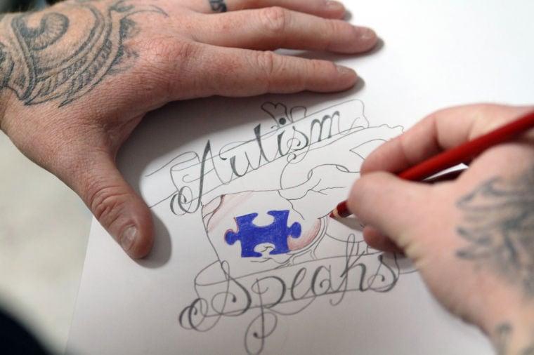 Autism Tattoo Fundraiser News Kdhnews