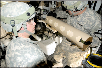 Steel Dragons conduct live fire exercise at NTC