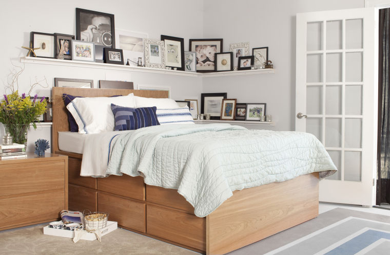 Under-the-bed storage