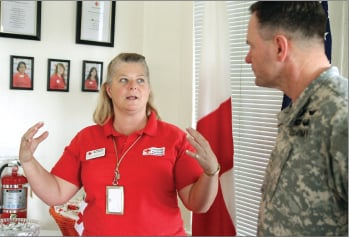 Red Cross shows off Fort Hood facilities