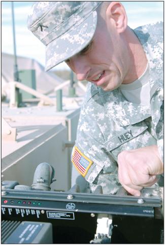 Ironhorse mechanic fulfills lifelong dream to enlist in military