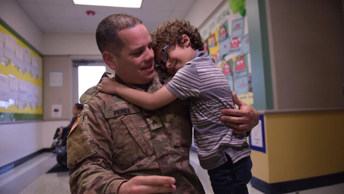 Fort Hood soldier surprises sons in heartwarming return from deployment