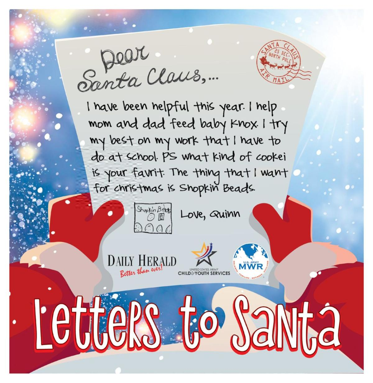 2018 Letters to Santa