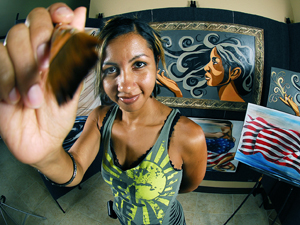 For arts' sake: Festival brings art and more to Conder Park on Saturday