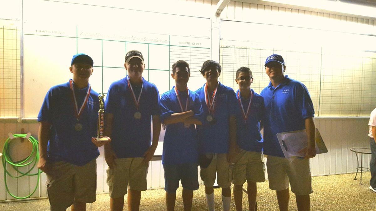 Liberty Hill boys golf