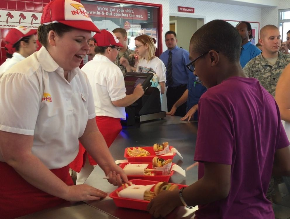 In-N-Out opening