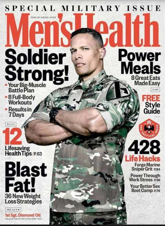 Fort hood soldier to be on men s health cover military