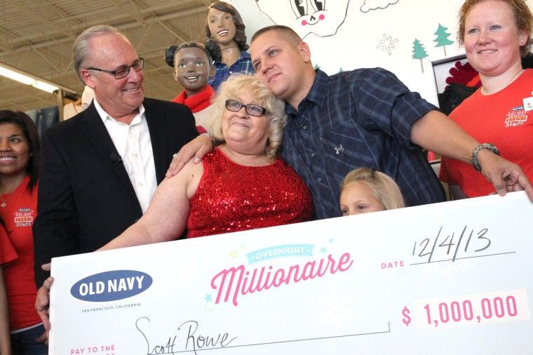 Old navy million winner
