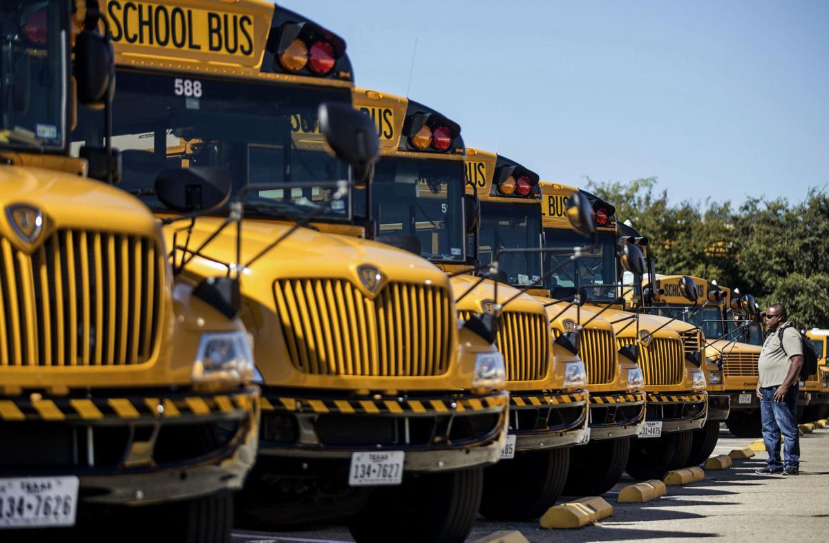 KISD School Buses