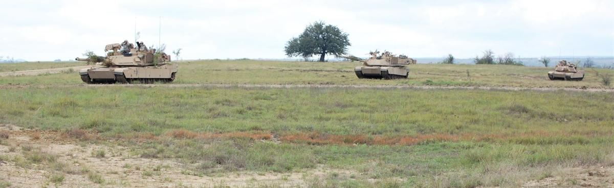Tanks on the move