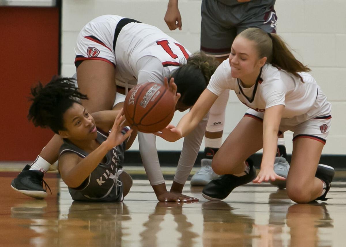 Killeen at Harker heights Girls Basketball