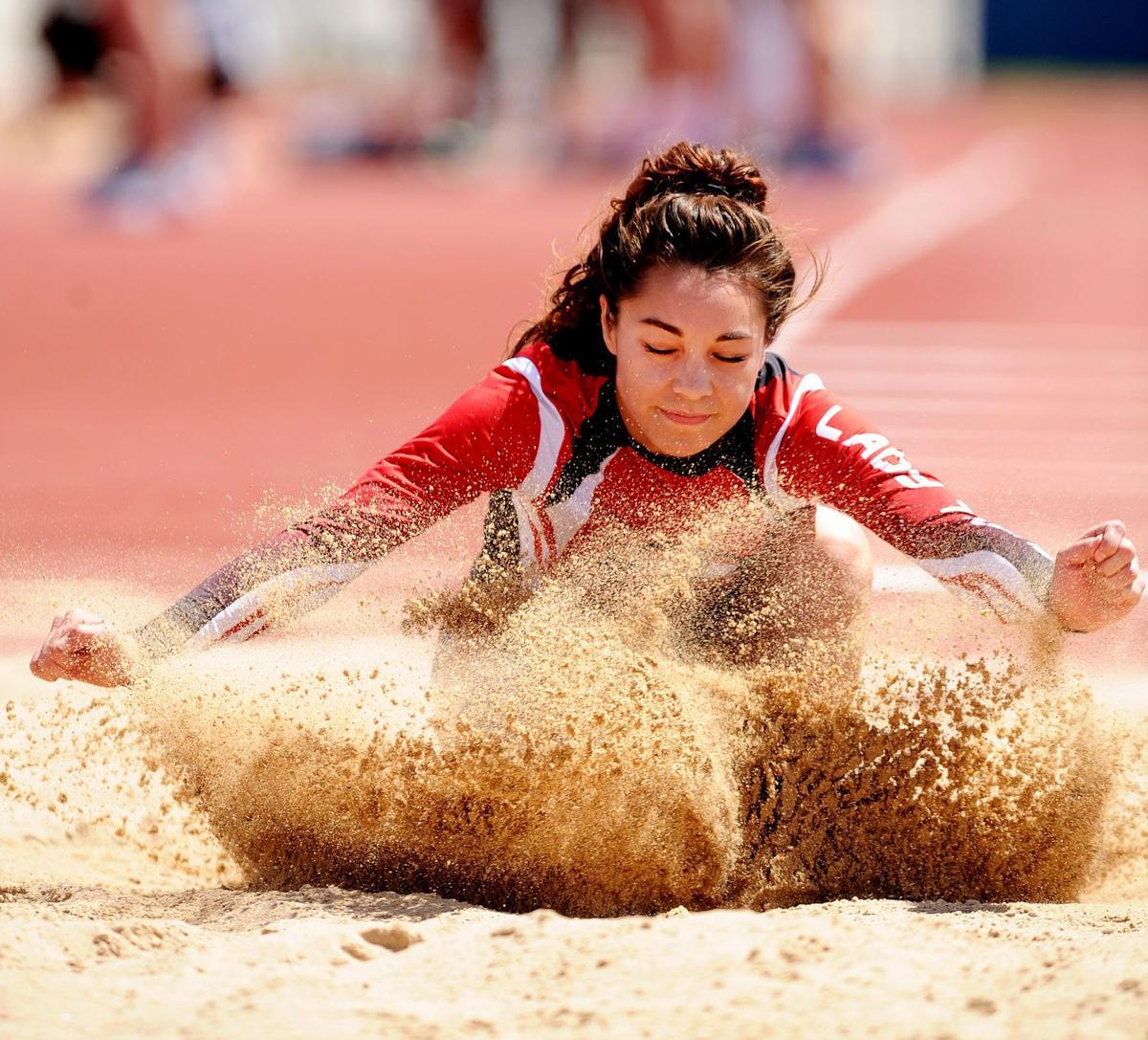 Dist 12-6A track-Courtney Altenberg-Long jump