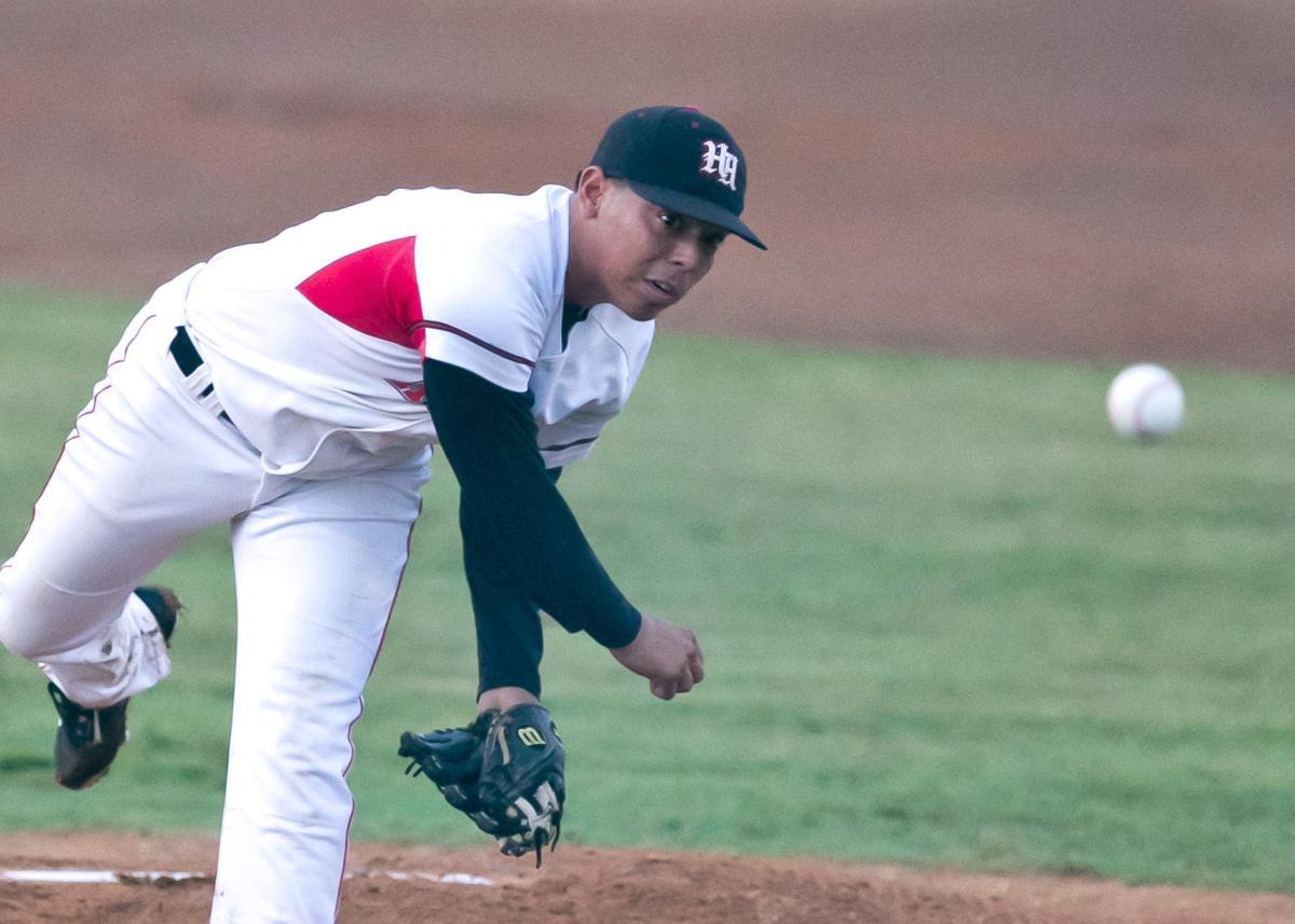 Sachse at Harker Heights baseball playoffs, Round 1, Game 1