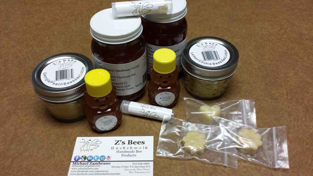 Z's Bees Bee Products!