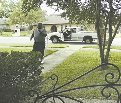 Porch thief