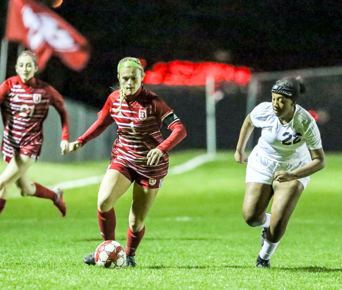 Belton Girls Soccer vs Shoemaker