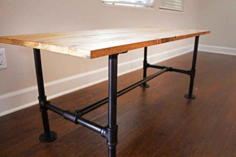 Diy Make Your Own Stylish Metal Pipe Coffee Table At