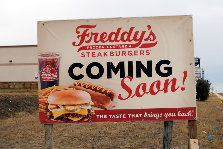 Freddy's coming soon