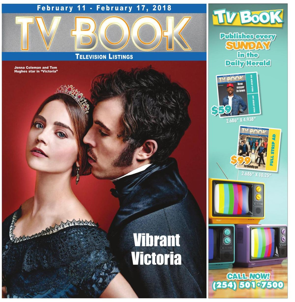 TV Book Feb. 11th ~ Feb. 17th