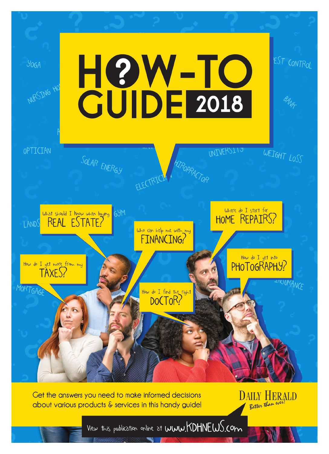 How To Guide 2018