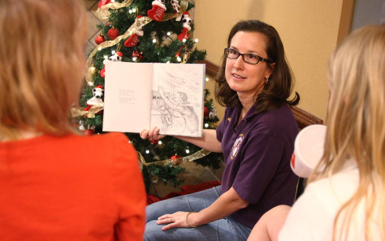 Texas Night Before Christmas Literacy Workshop