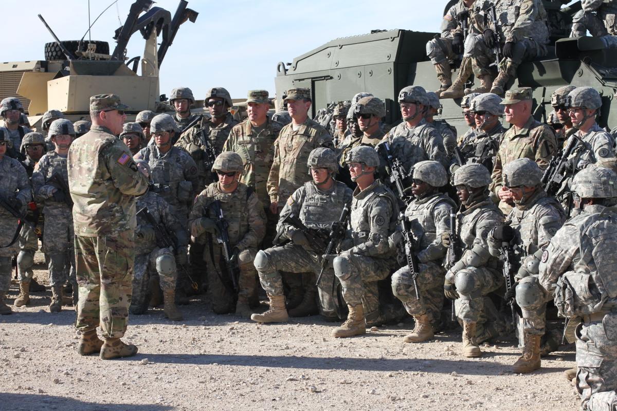 Gen. Milley at Fort Hood