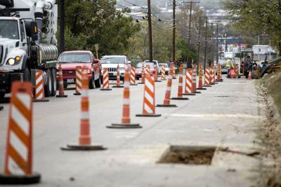Construction on Florence Road in Killeen