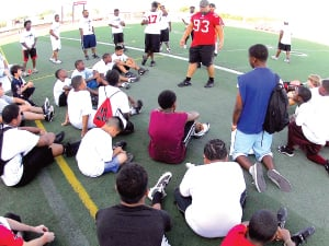 Pro Combine promises fun for youngsters, adults