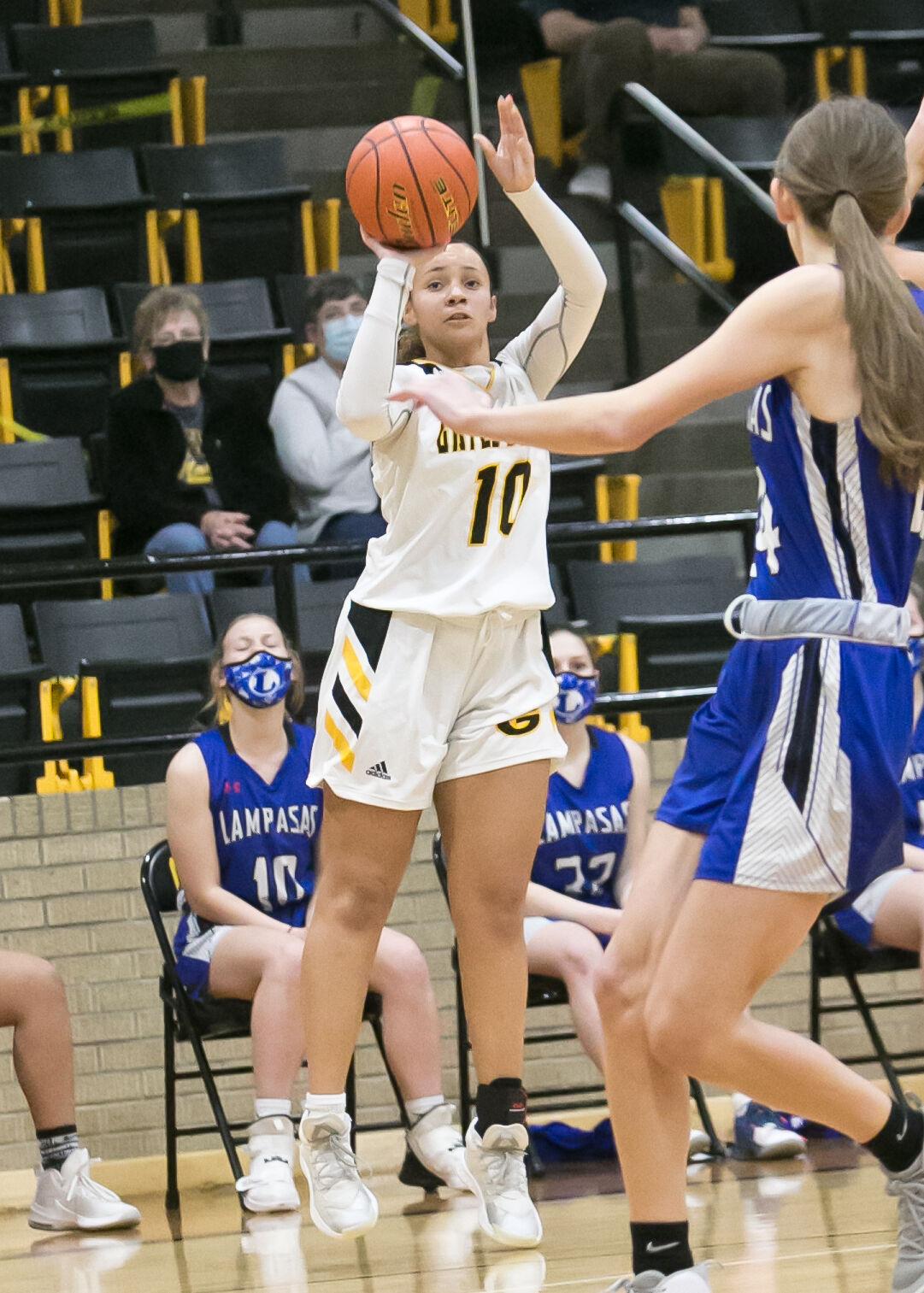 Lampasas at Gatesville Girls Basketball