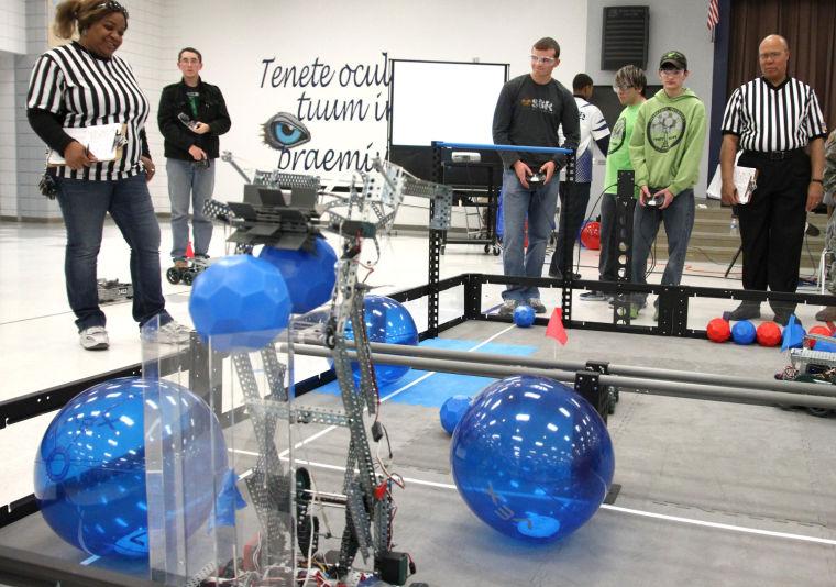 Killeen Toss Up Robotics Competition