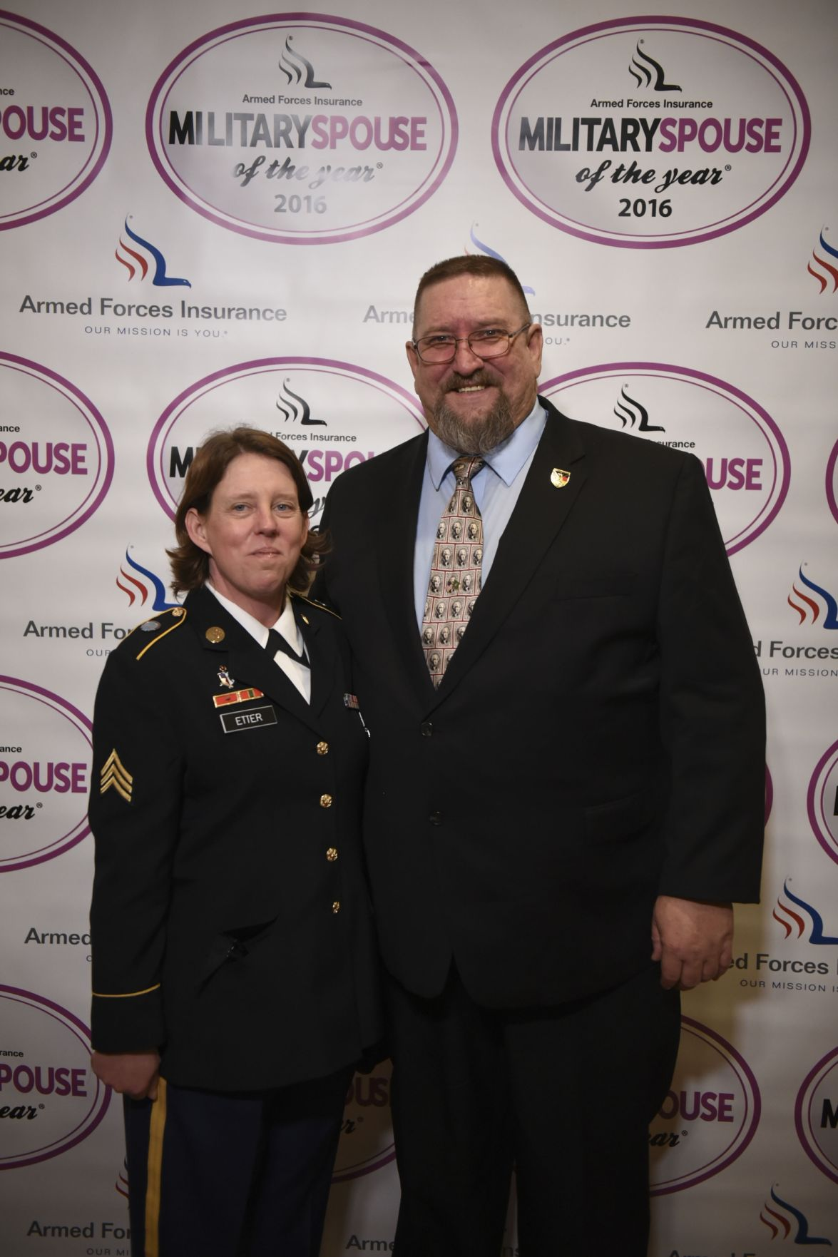 The 2016 Armed Forces Insurance Military Spouse of the Year Award