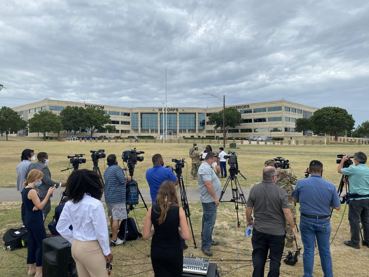 Fort Hood news conference