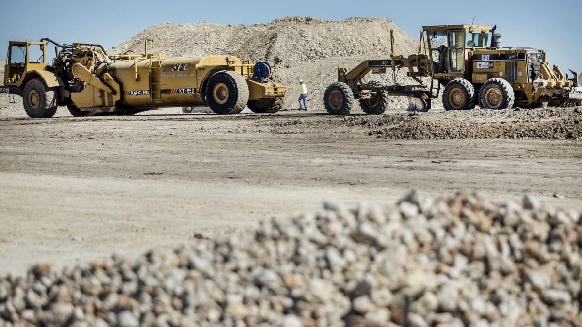 Killeen millions at work: Water district begins plant construction