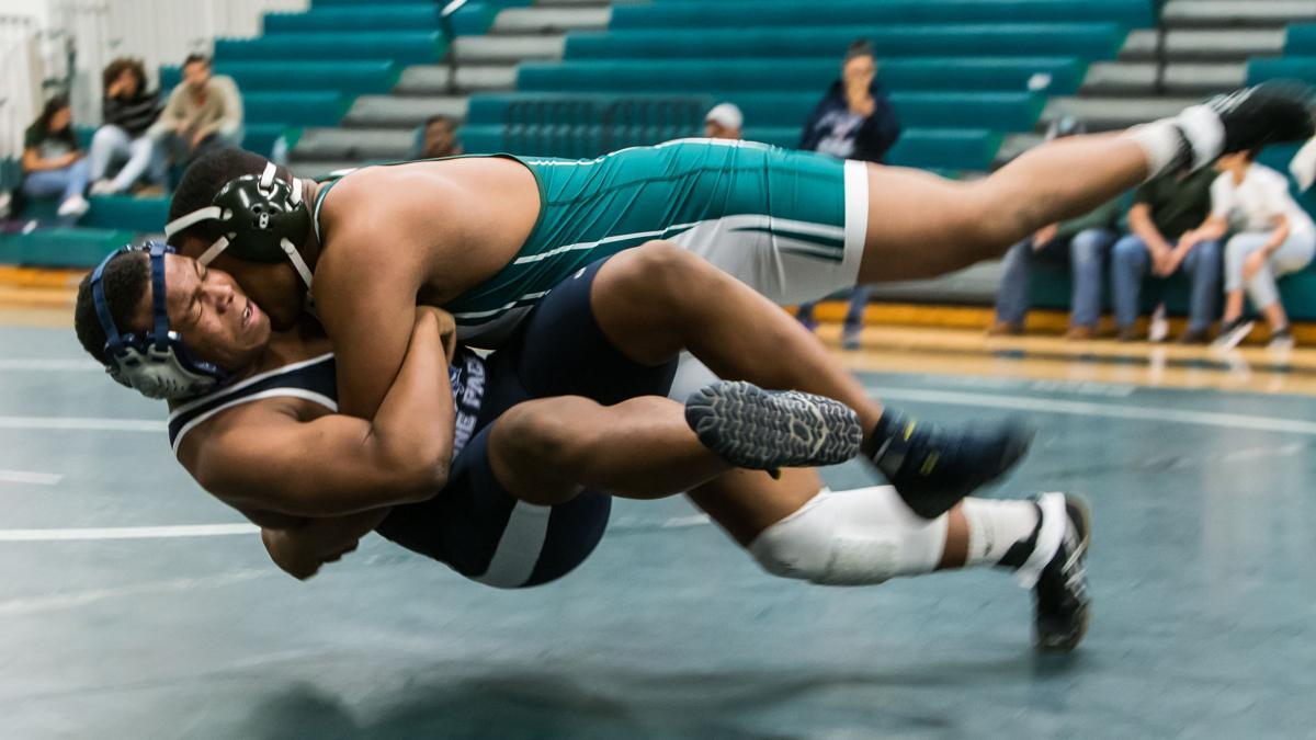 Ellison defeats Shoemaker prior to start of district wrestling schedule